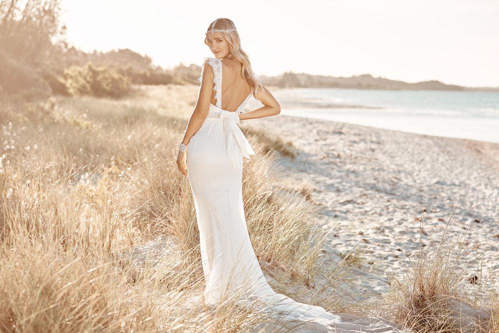 Anna Campbell Ruby Dress