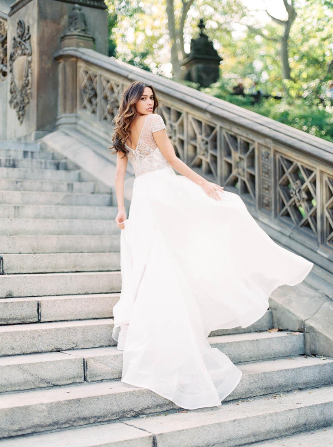 Anna Campbell nupcial vestido de Viena | Colección ceremonia