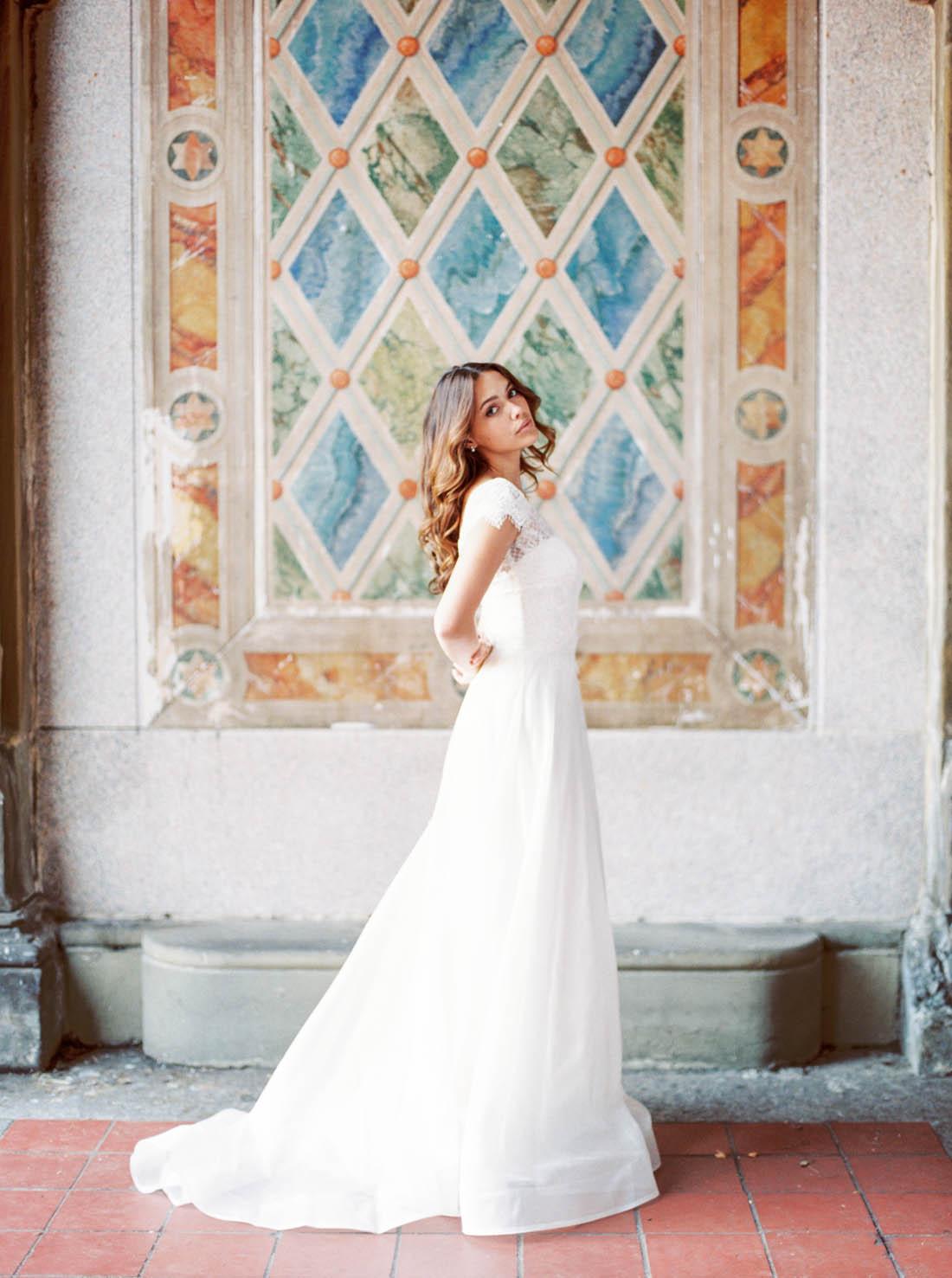 Anna Campbell vestido de novia de Georgia | Colección ceremonia