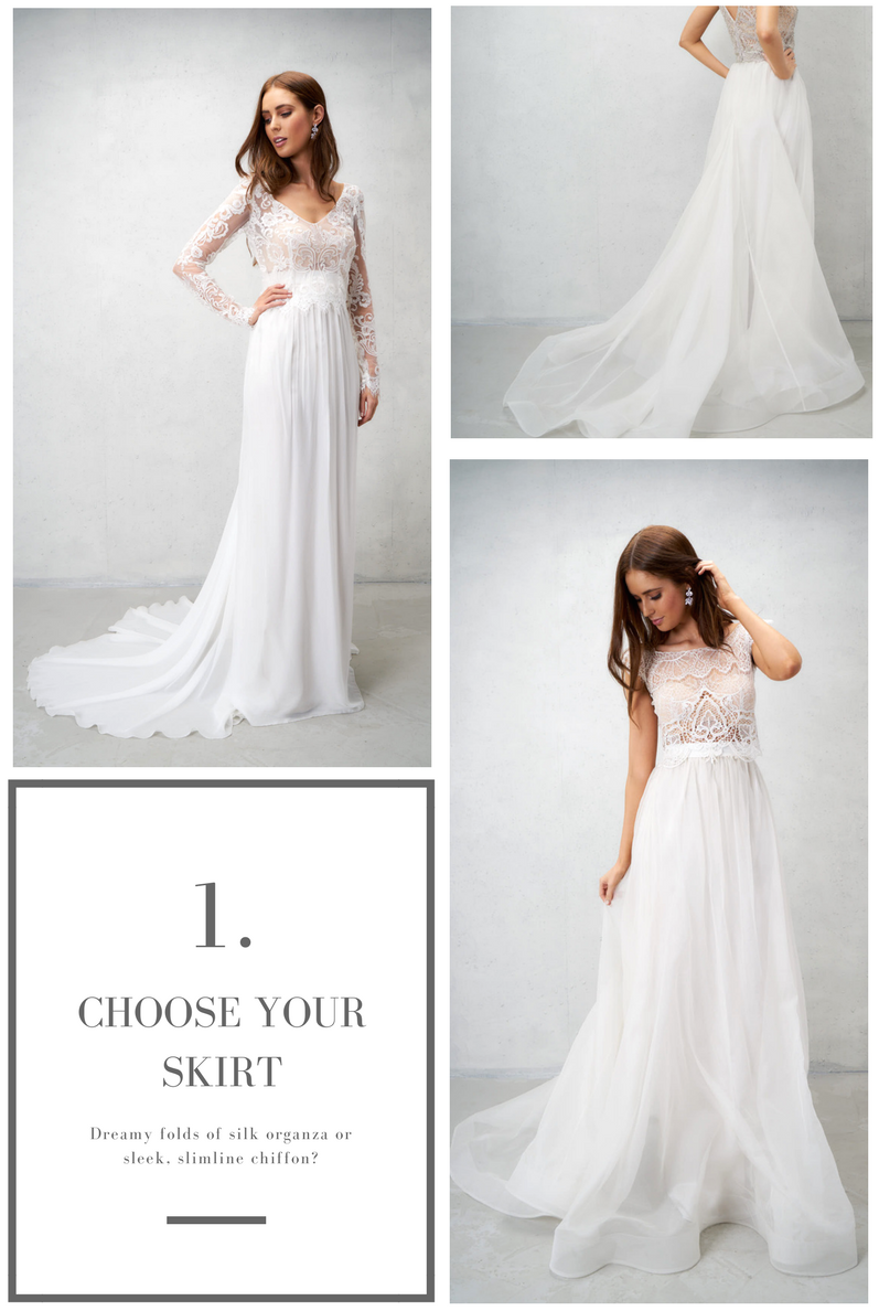 Anna Campbell Bridal Skirt Separates