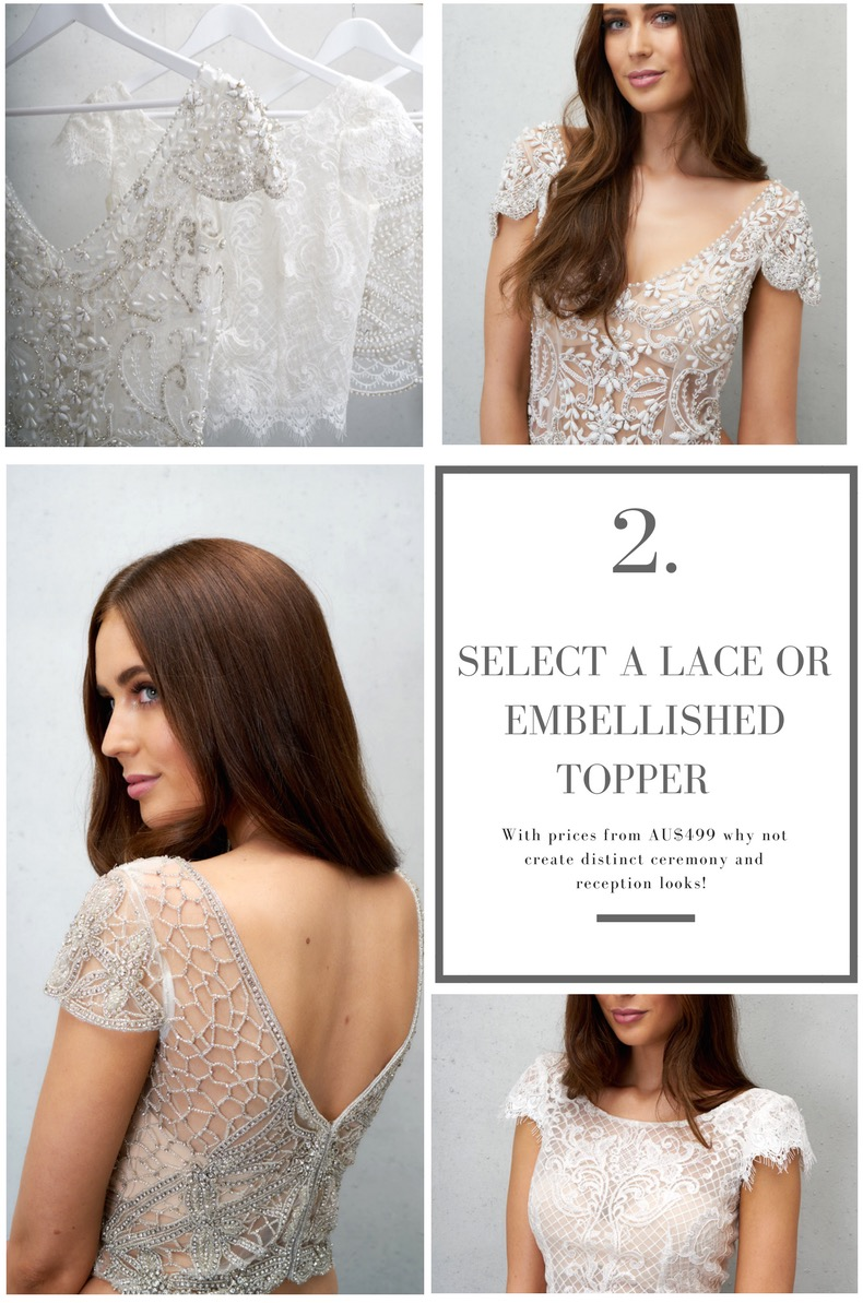 Anna Campbell Bridal Toppers and Separates