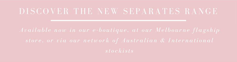 Discover the new Anna Campbell Bridal Separates Range