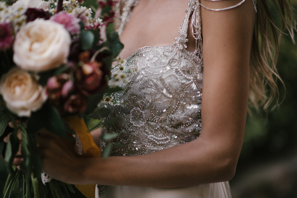 Anna Campbell Bridal | Chloe Dress | Vintage Inspired Beaded Wedding Dress