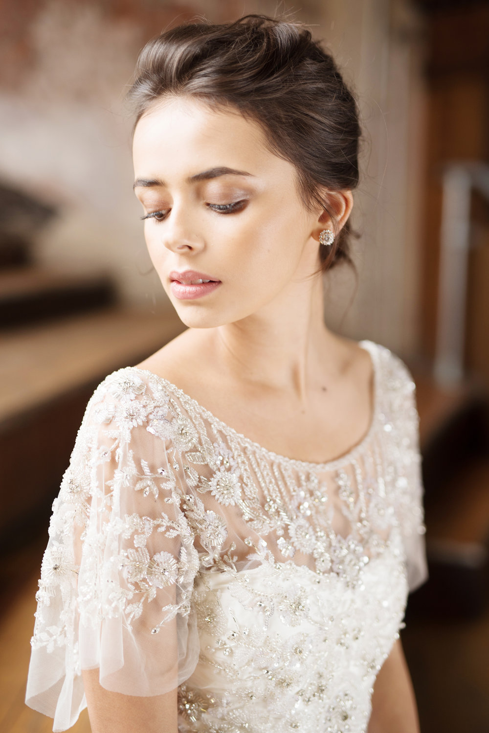 Anna Campbell Bridal | Adele Dress | Vintage Inspired Beaded Wedding Dress | Eternal Heart Collection
