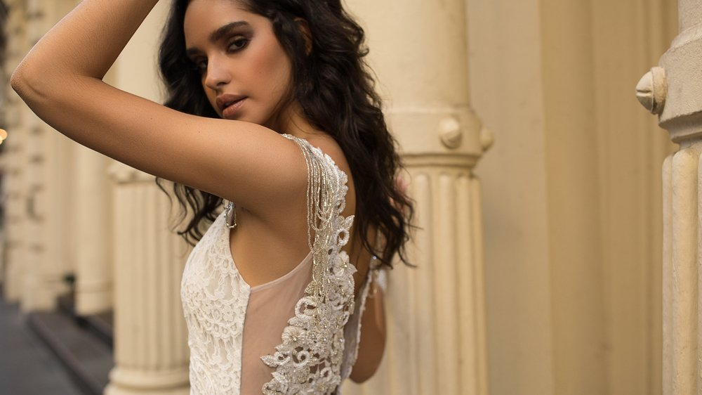 Anna Campbell Bridal Saasha Embellished Wedding Dress