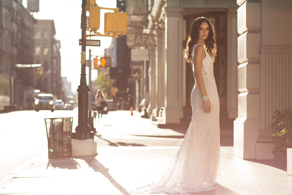 Anna Campbell Bridal | Kira lace wedding dress