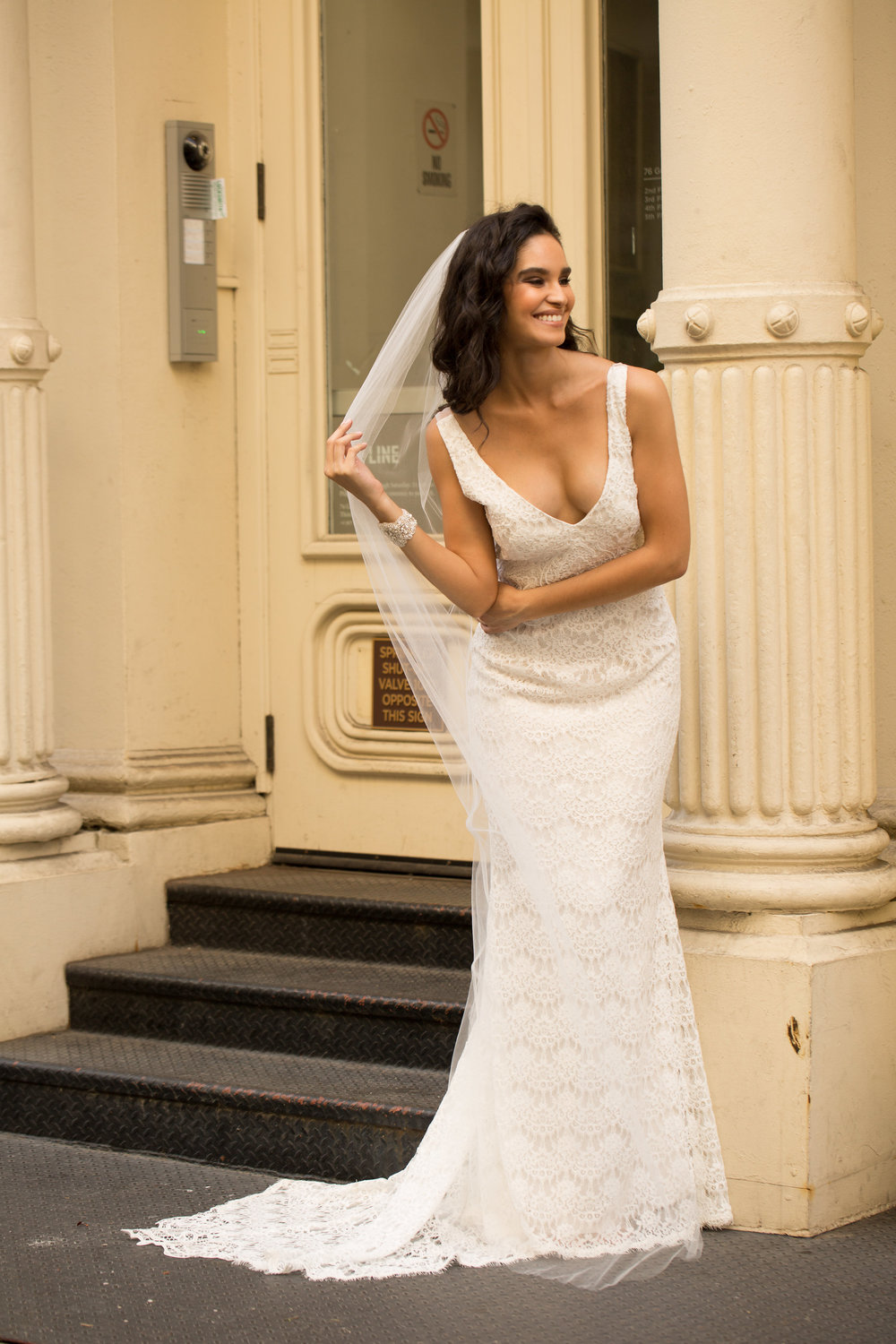 Anna Campbell Bridal | Saasha lace wedding dress
