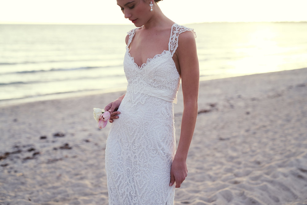 Anna Campbell Bridal Eleanor Wedding Dress | Unique Vintage Lace Back Details