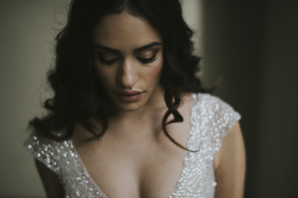 Anna Campbell Bridal | Sydney sequin wedding dress