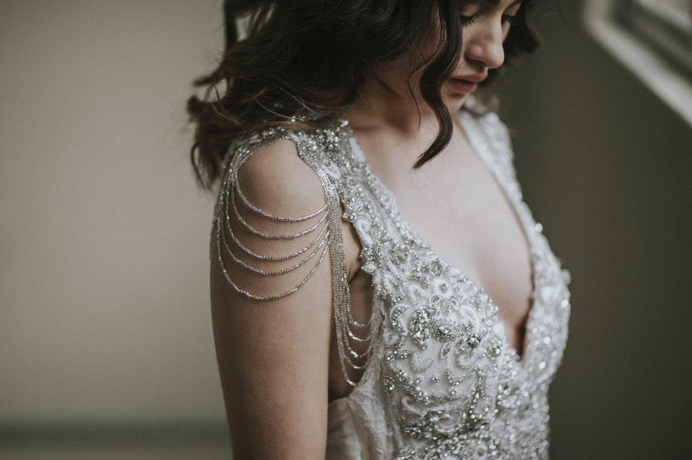 Anna Campbell Bridal | Sierra Dress | Embellished Wedding Dress