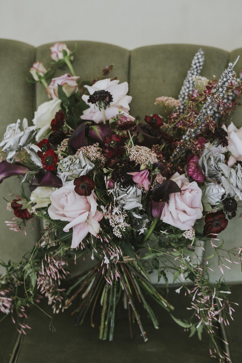 Wild romantic bridal bouquet | Anna Campbell Bridal