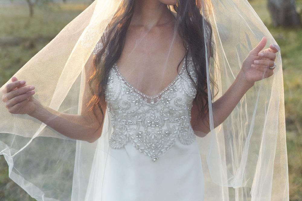Anna Campbell Bridal | Zara Veil | Wedding Veil | Shop online from AUD$199