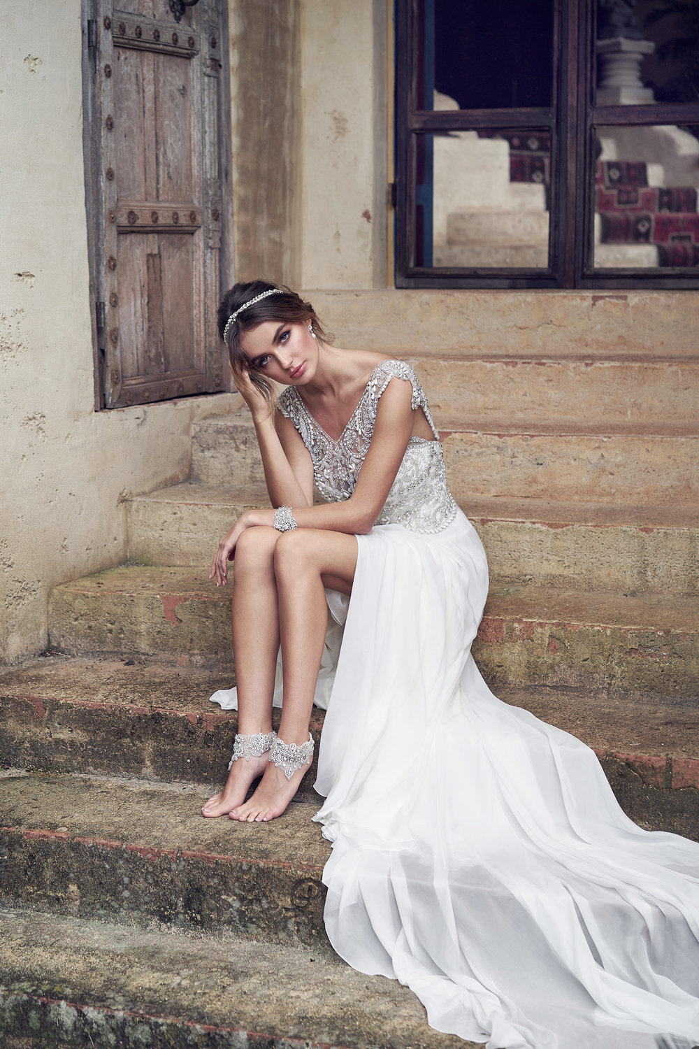 Anna Campbell Bridal Aria Dress | Wanderlust Collection