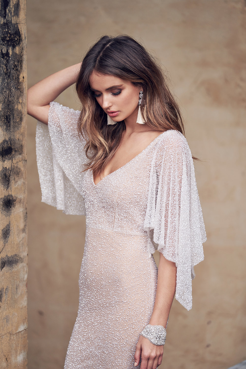 Anna Campbell Bridal Wanda Dress | Wanderlust Collection