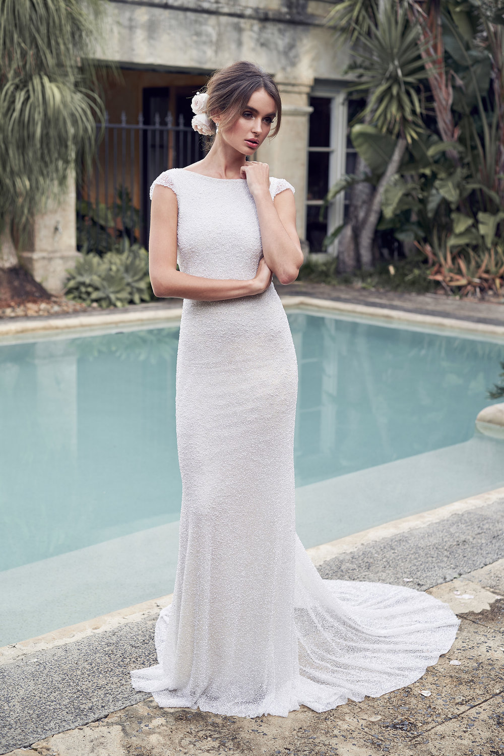 Anna Campbell Bridal Wanda (Illusion) Dress | Wanderlust Collection