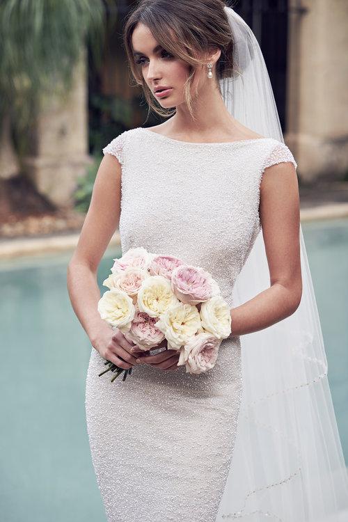 2e1052e3d9e Anna Campbell Bridal Wanda (Illusion) Dress