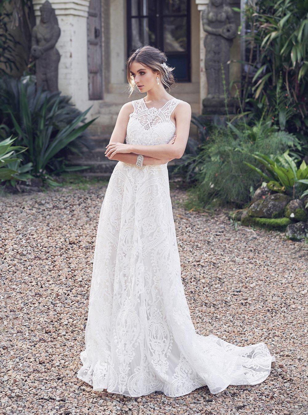 Anna Campbell Bridal Winter Dress | Wanderlust Collection