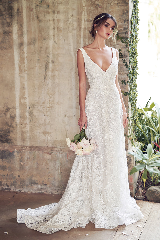 Anna Campbell Bridal | Wanderlust Collection | Jamie Dress | orders@annacampbell.com.au