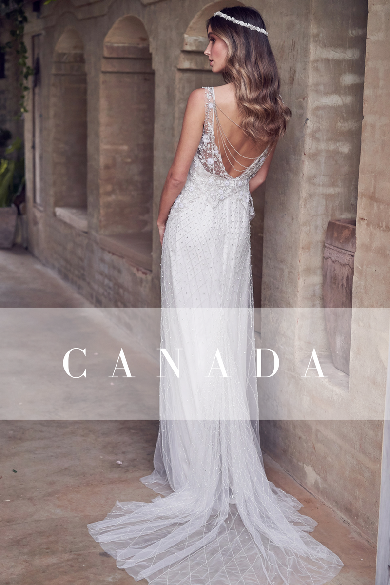 Australia New Zealand Singapore Anna Campbell Bridal Stockists
