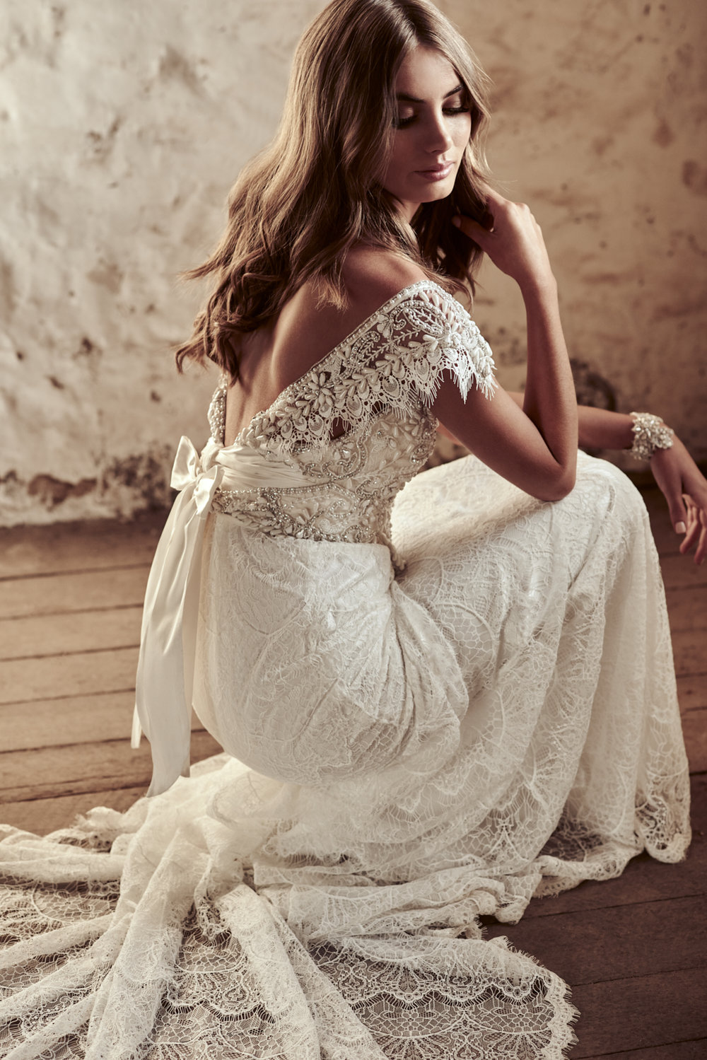 Ruby Fit Flare Lace Anna Campbell