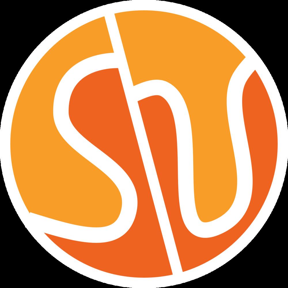 Swung round orange