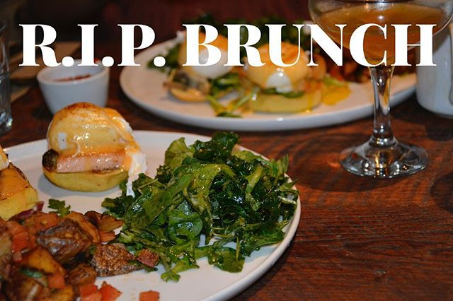 We are incredibly sad to announce that we won't be able to do brunch any longer. But hey, we can't leave you hanging, we will be open Saturday and Sunday at 1pm for Happy Hour starting tomorrow! #rip #brunch #sad #but #happyhour #is #better #no? #dinner #cocktails #beer #wine #butgers #salmon #brooklyn #bushwick #ridgewood #queens #ny #nyc