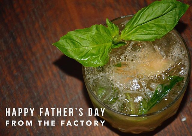 Did you call your dad today and invite him to the Factory? #fathersday #sunday #drinks #dranks #goodfood #fries #burgers #cocktails #beer #wine #ridgewood #bushwick #brooklyn #bk #ny #reataurant #bar #quality