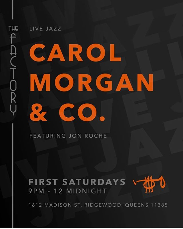 LIVE JAZZ!!! This Saturday again. Whoever missed it last time! You have another chance!!!#bar #restaurant #liveshow #livejazz #show #jazz #drinks #dranks #food #goodfood #burgers #fries #salmon #cocktails #beer #wine #ridgewood #brooklyn #bk #queens #bushwick #thefactlrybk