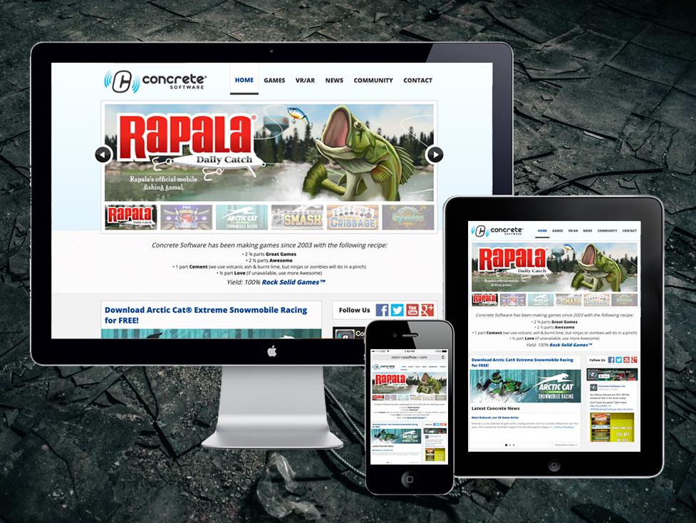 Concrete Software, Website Redesign