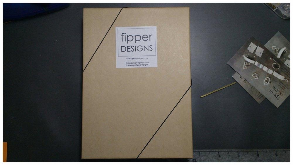 Fipper Designs Packaging