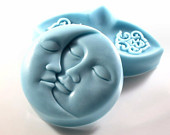 Decorative Soap Set - Tranquility in Blue Aqua