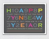 Happy New Year FUN Party Invitation