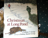 Christmas at Long Pond Like New, Children's gifts under 25, Nature books for children