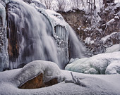 Winter Falls, winter fine art photography, snow photography, frozen waterfall fine art photography