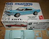1966 Mustang AMT Model Kit