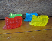 Realistic Glycerin Toy Train Children's Soap