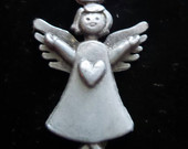 Pewter Angel Pendant