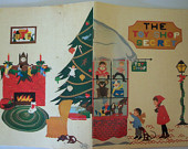 Vintage Christmas Book ~The Toy Shop Secret~ Children's Fiction 1960s
