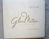 Glenn Miller Collectors Issue, Vintage, 5 Records, Second Pressing, RCA LPT 6700