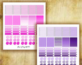 Color Set Stickers for Erin Condren Life Planner
