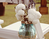 10 Mason Jar Flower Frog Lids Hanging Twine Covered Country Mason Jar Spring Wedding Decorations New Style To Etsy