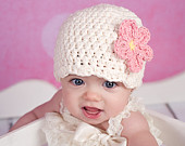 30 Colors Newborn Baby Girl Hat Newborn Baby Hat Flapper Beanie Flapper Hat Crochet Flower Hat Baby Girl Clothes Baby Girl Clothing New Mom
