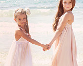 Ivory Lace and Tulle dress flower girl Dress