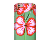 Smartphone Case My melody for iPhone iPod  Samsung Blackberry HTC Flowers Nature Photography Fine Art Vintage blossom vintage mint red green