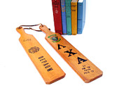 Vintage College Fraternity Wood Paddles Athletic Sports Decor