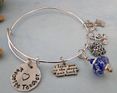 Favorite Teacher Alex and Ani Style Expandable Style Bangle Charm Bracelet - FREE SHIPPING