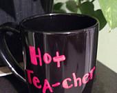 Hot tea-cher mug