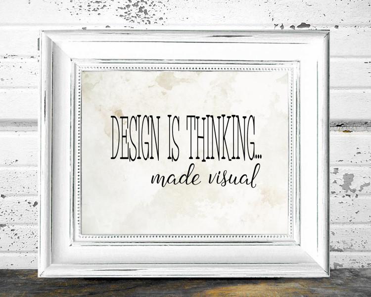 Desgin is thinking...