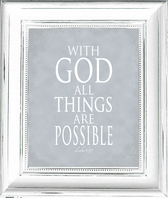 With God