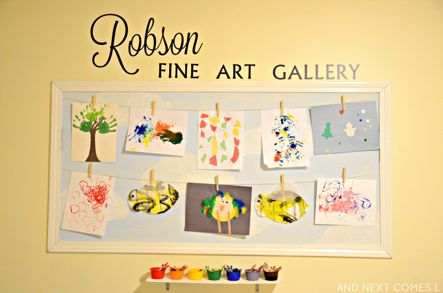 how-to-display-childrens-artwork-at-home-2